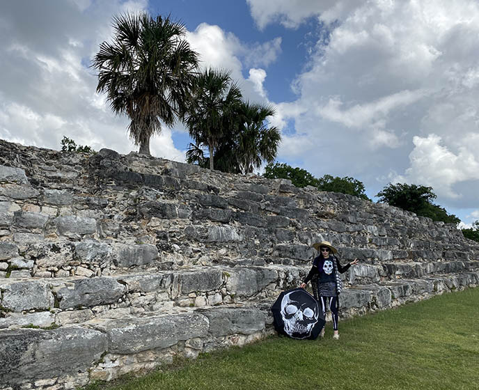 mexico obscure ruins maya pyramids