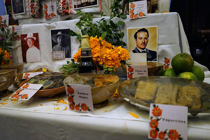 day of the dead food offerings ancestors