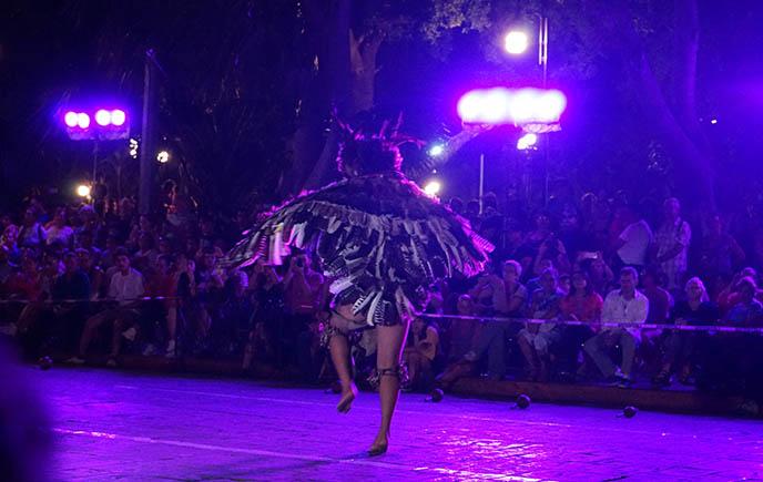 Ancient Mayan dance ritual bird