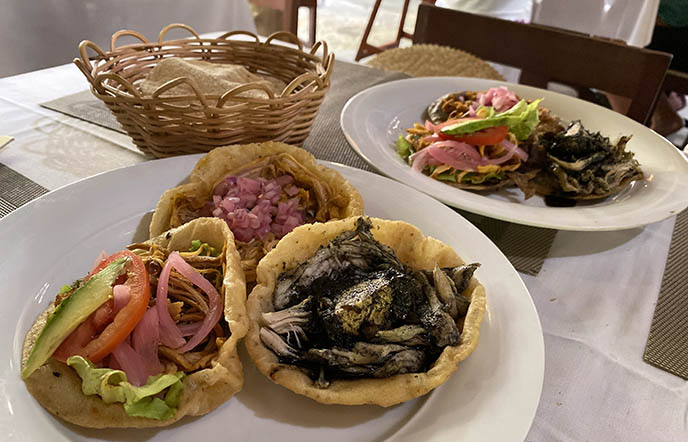 Kinich Izamal restaurant food menu