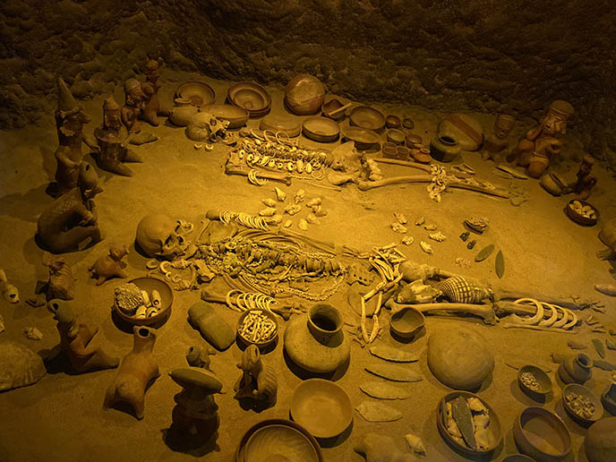 aztec mayan sacrifice victims skeletons bones