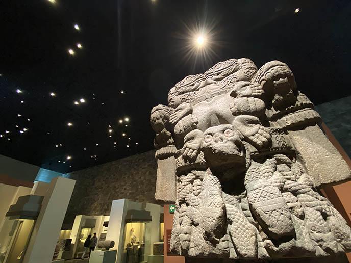 ancient mexico sculptures museo anthropologia cdmx