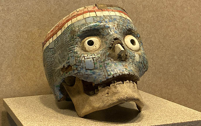 aztec god of death underworld prehispanic death rituals