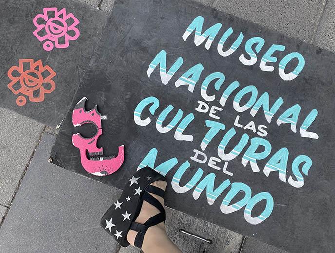 Museo Nacional de las Culturas del Mundo mexico city