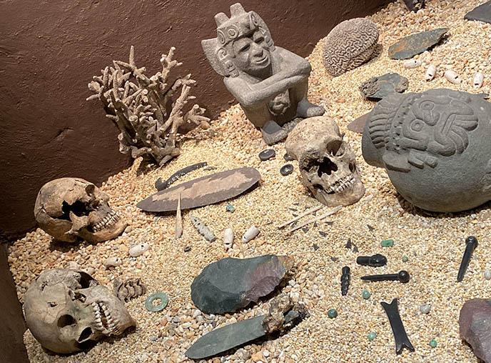 templo mayor human sacrifice killed skulls