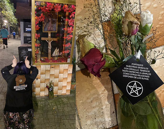 satanic temple mexico city satanists pentagram