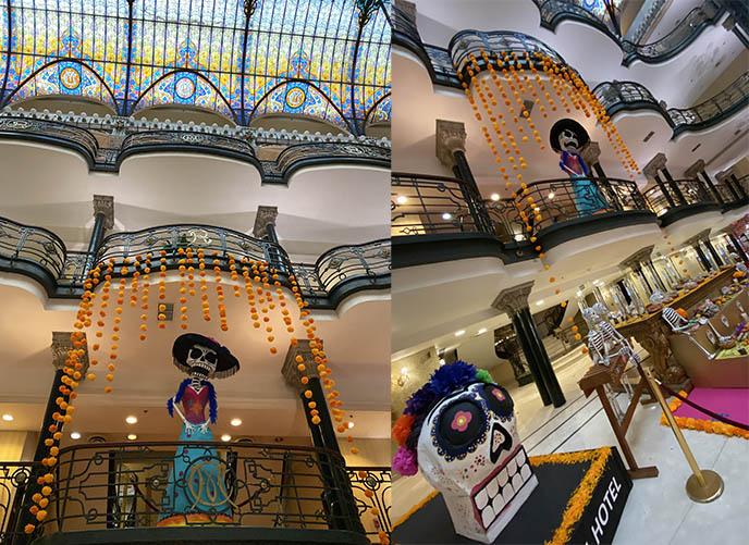 gran hotel ciudad de mexico, mexico city art deco building