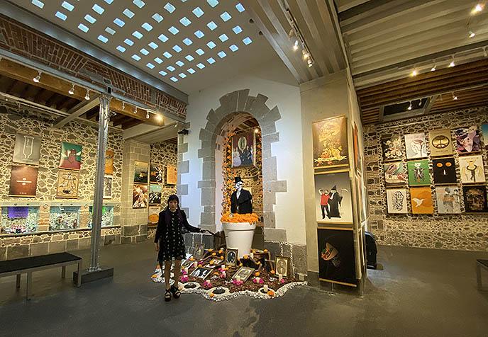 mexico city contemporary avantgarde art museums exhibits galleries