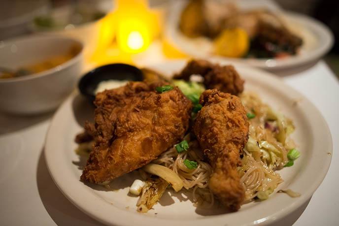 evzin restaurant chicken adobo