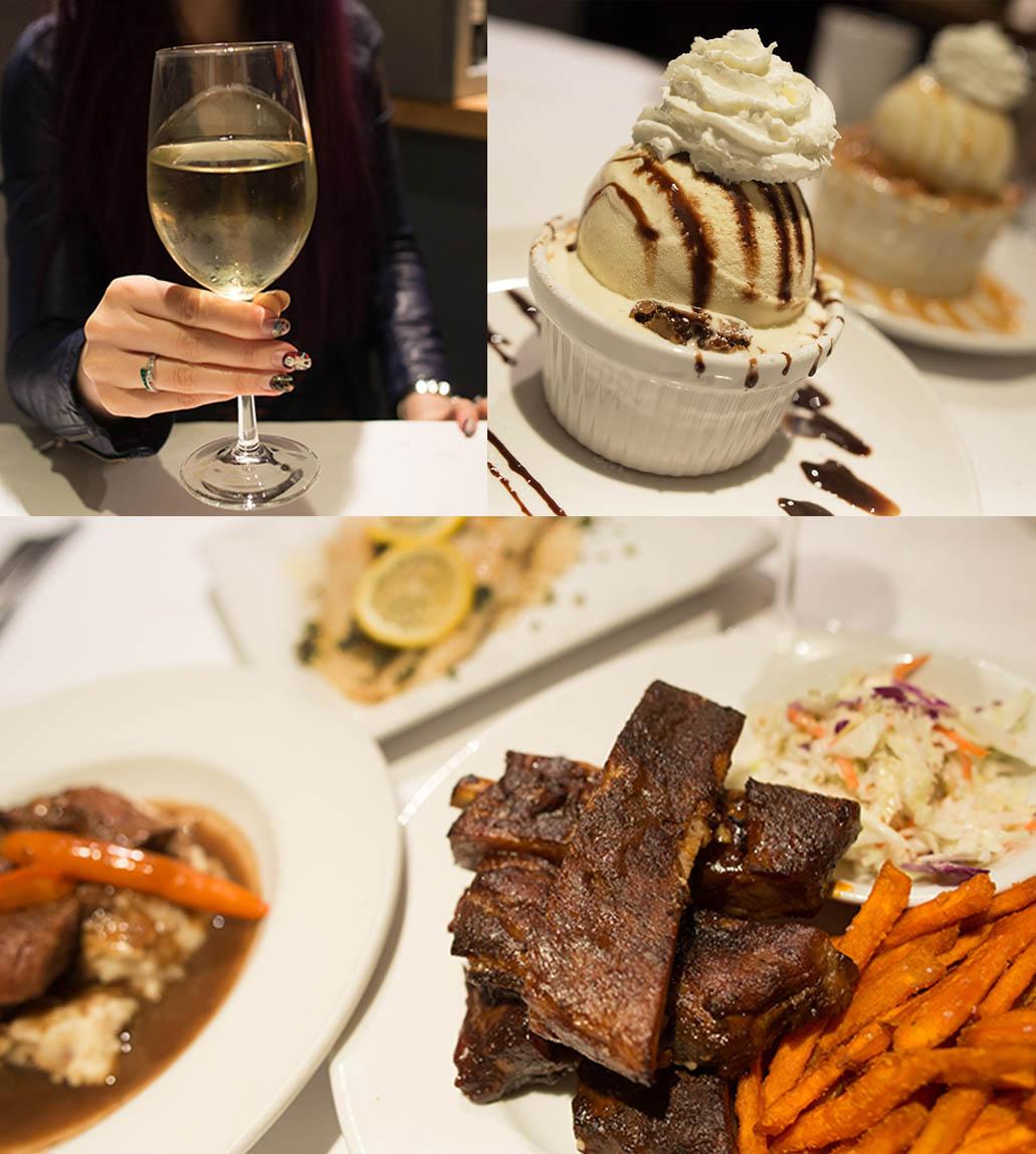 trio Restaurant wine dinner menu
