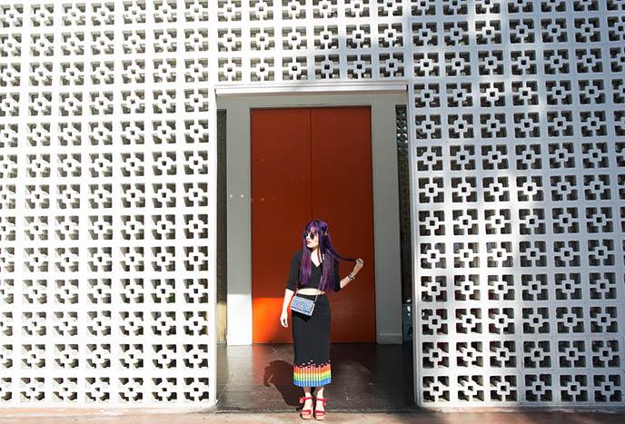 doorway parker palm springs instagram spots