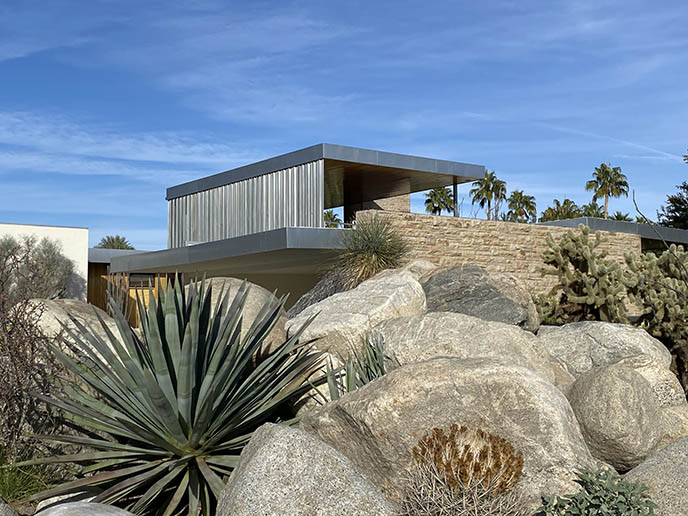 Richard Neutra Kaufmann House tour modernism week