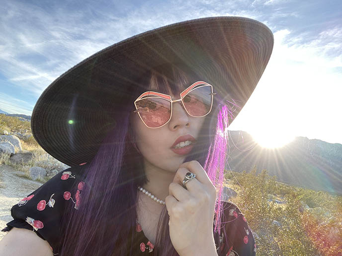 fashion blogger sunglasses selfie spilt milk eyewear