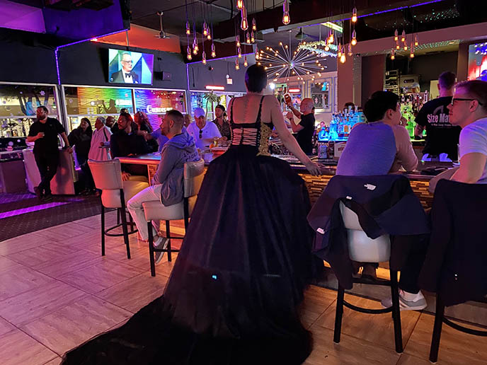 palm springs lgbt travel, arenas gay club district bars