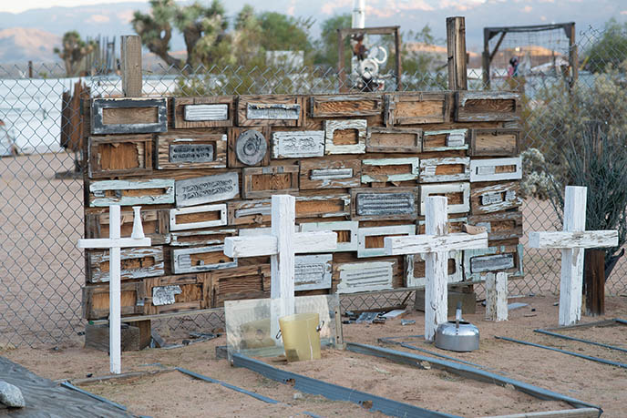 Noah Purifoy Outdoor Desert Art Museum train