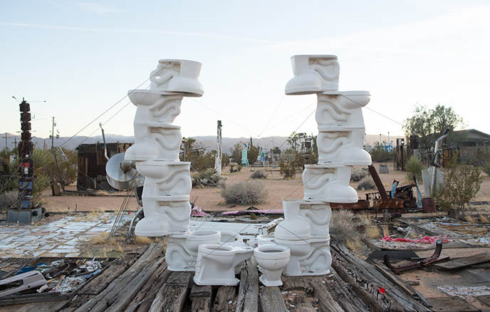 free outdoor art installation joshua tree