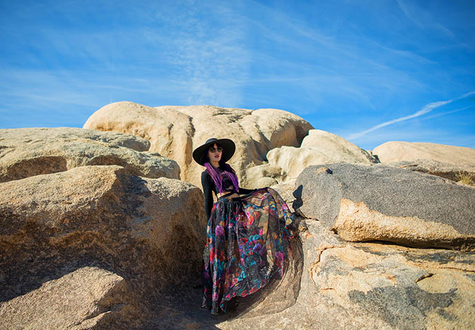 joshua tree rock formations, photographic spots