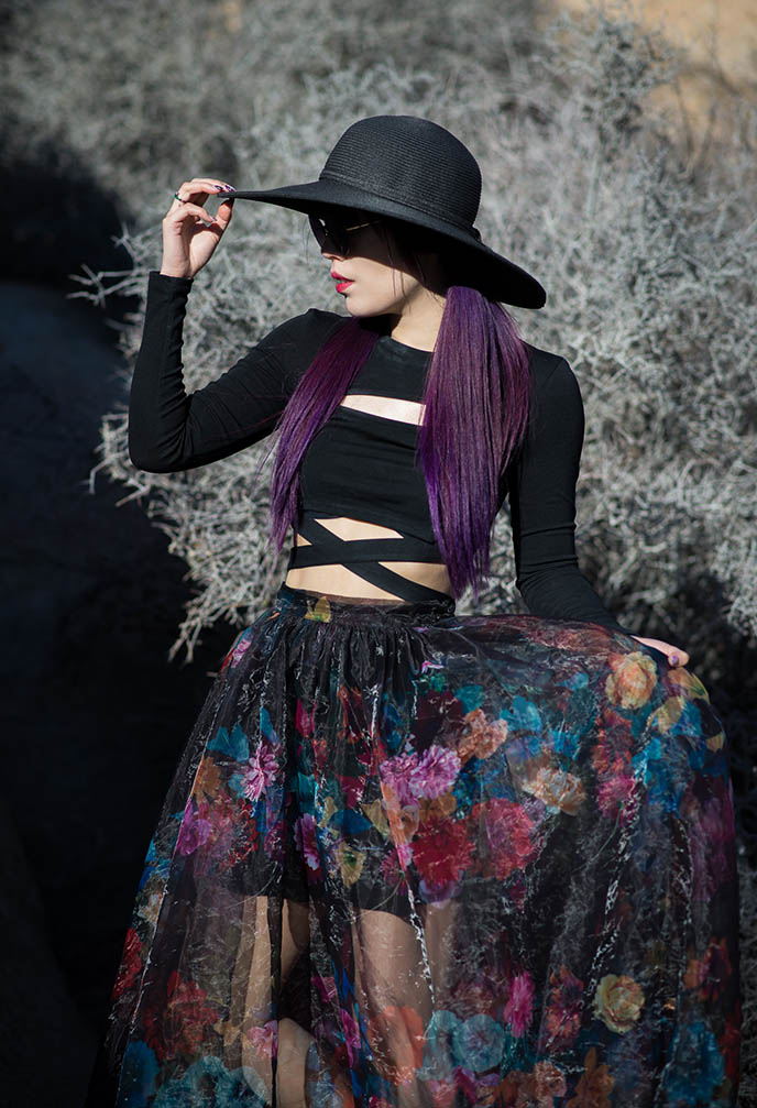 romantic gothic style outfit inspiration ootd