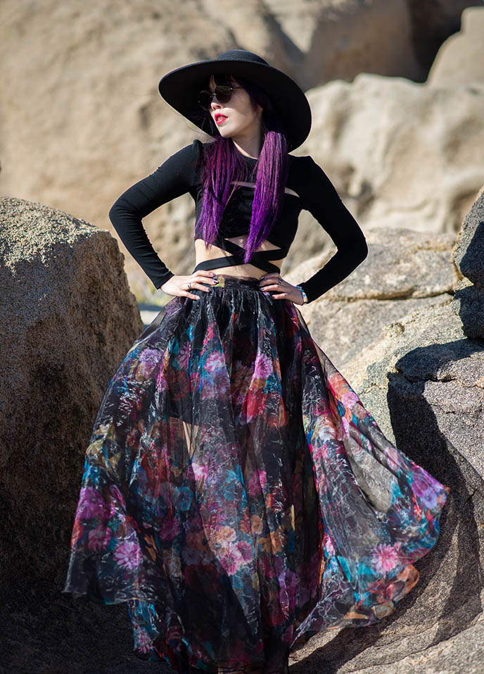 goth style blogger outfit romantic gothic