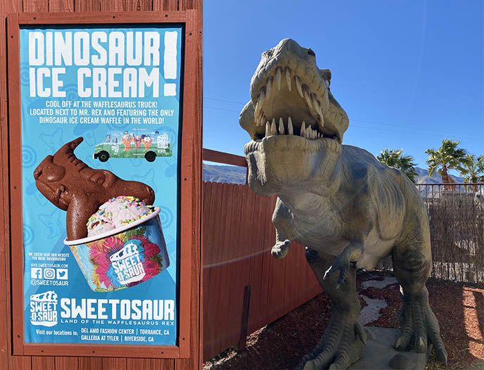 dinosaur museum ice cream palm springs cabazon