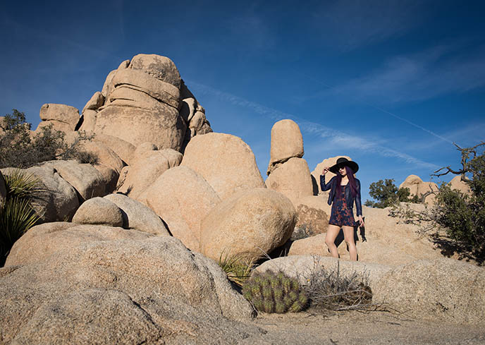 joshua tree park rocks, fashion modeling photography palm springs