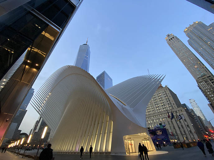 calatrava world trade center subway station nyc architecture