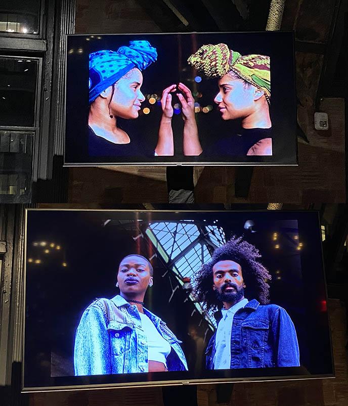 奇怪的同性恋身份的非洲人像摄影了Mikael owunna