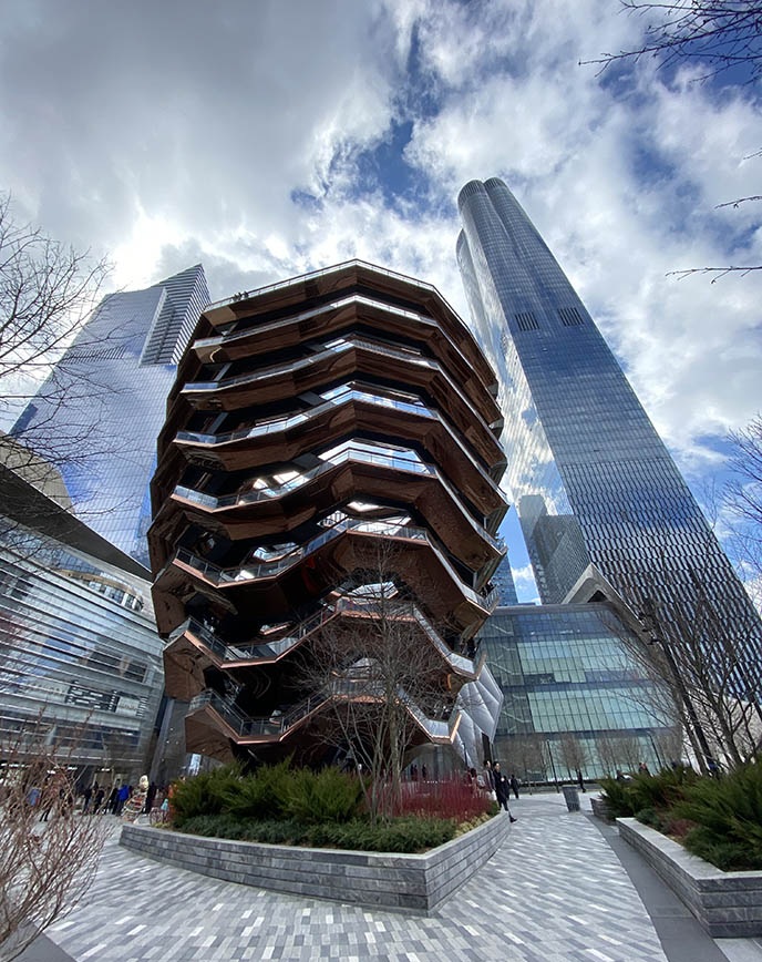 hudson yards vessel acorn building exterior