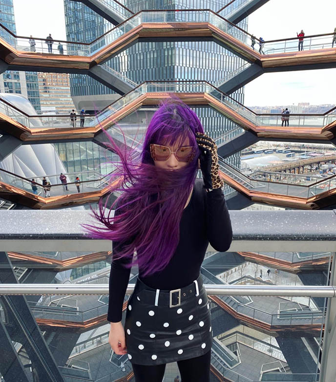 asian travel bloggers, fashion blogger instagram vessel nyc hudson yards architecture