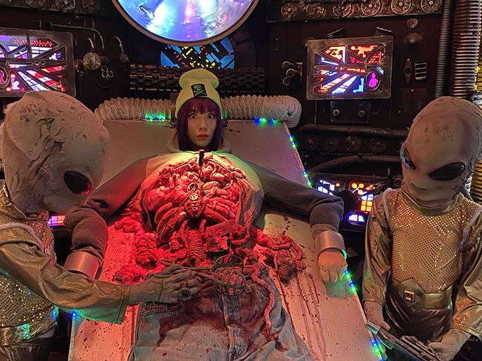 波特兰外星人博物馆偏心外来