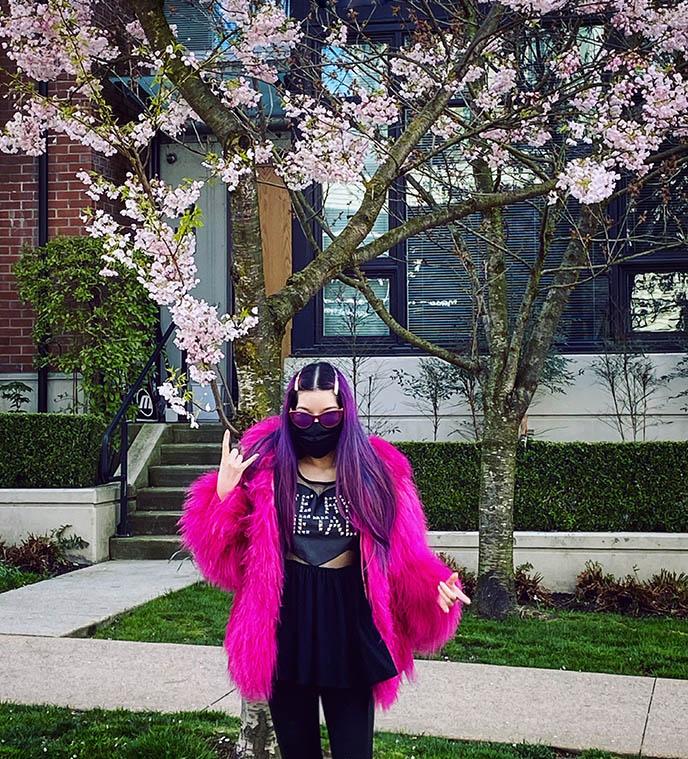 face masks quarantine fashion bloggers lockdown style