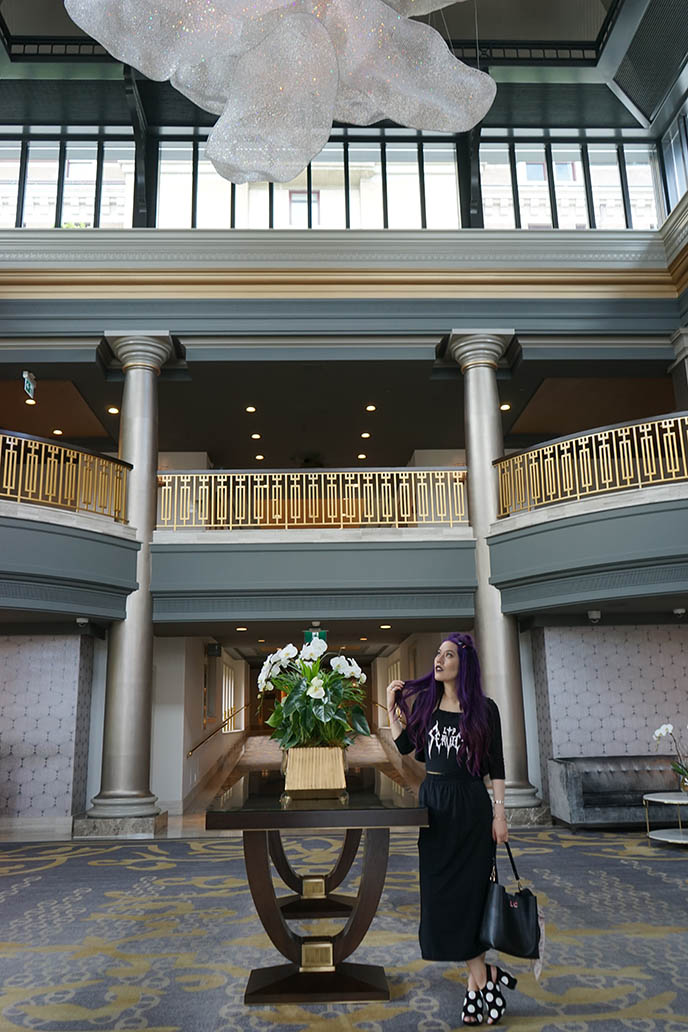 fairmont empress hotel renovation re-opening lobby design