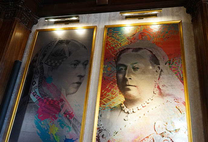 queen victoria rainbow paintings portraits