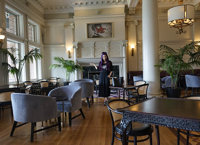 tea room empress fairmont reservations tearoom