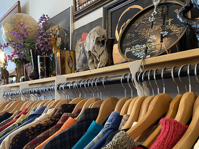racks of vintage clothing victoria bc shopping guide