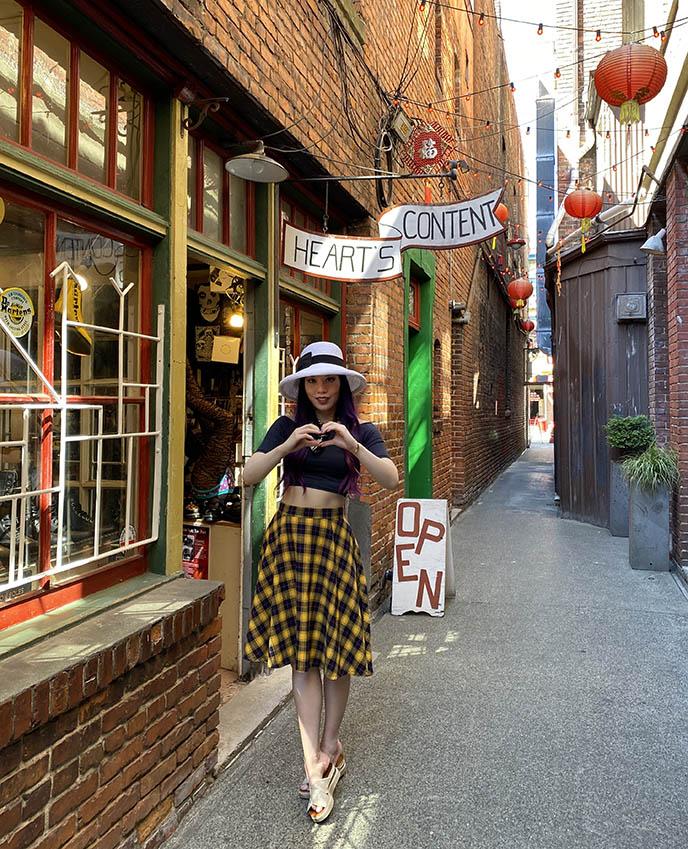 heart's content store fan tan alley victoria chinatown