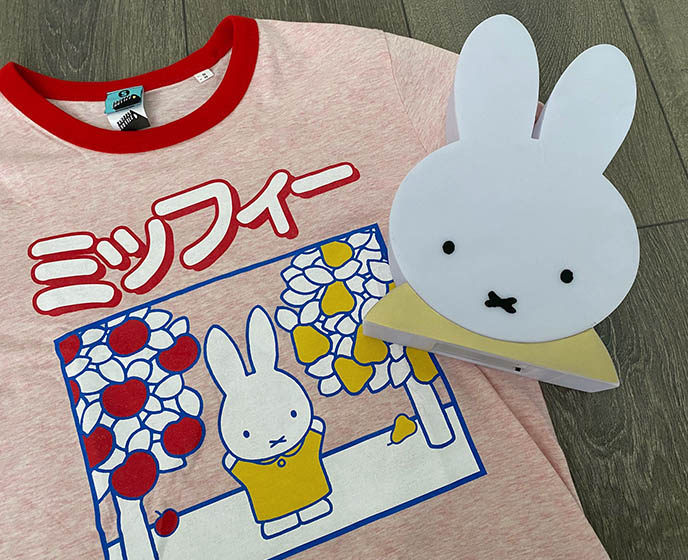 miffy bunny fashion line clothing collaborations shirts japan