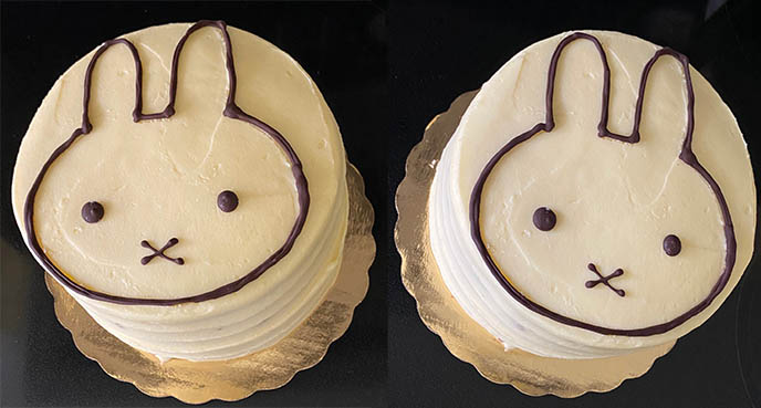 miffy bunny birthday cake, miffy rabbit decorated cakes dessert