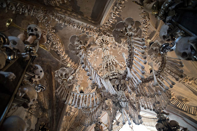 photos czech bones church chapel skeletons death metal