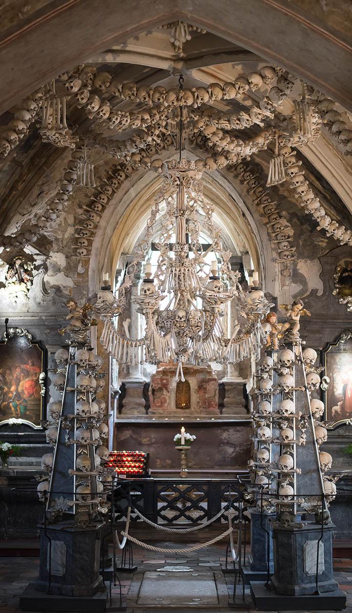 sedlec ossuary kutna hora bone building architecture