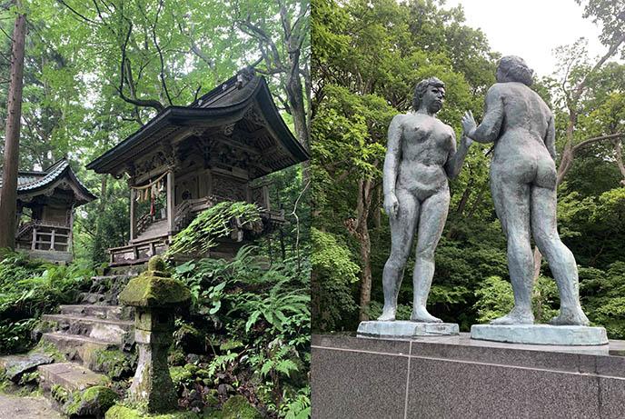 statue of virgins takamura kotaro aomori