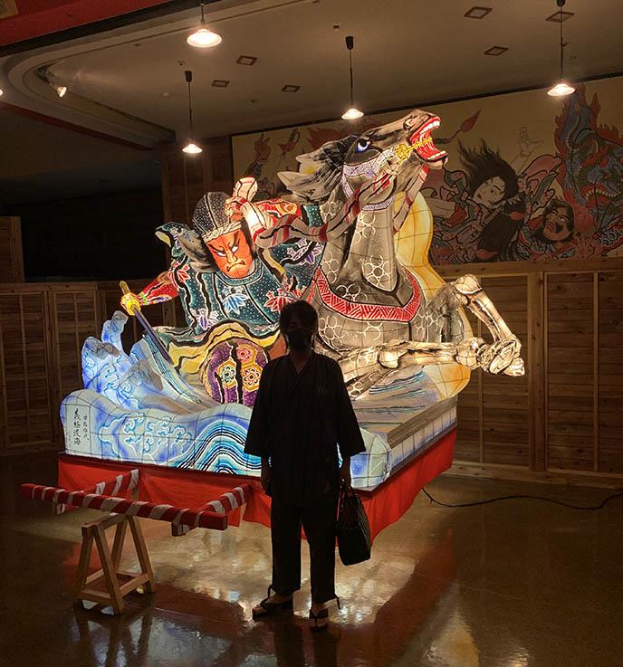 paper sculptures japan lanterns