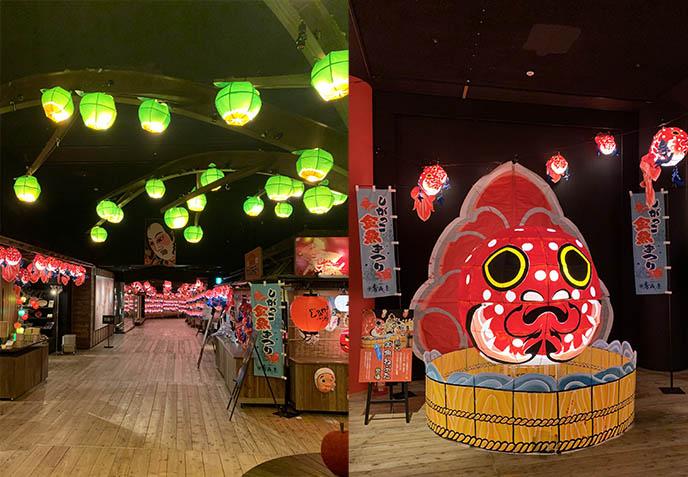misawa nebuta festival japan lit lantern art