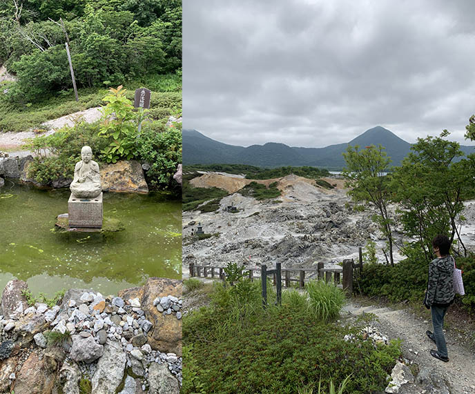 aomori mount osore haunted graves japan