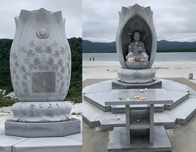 japan tsunami memorial statue