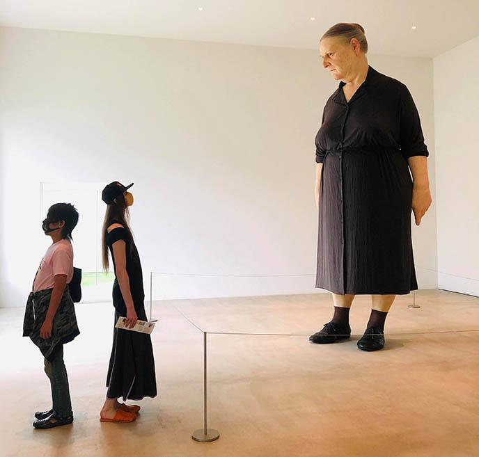 towada art center japan modern sculptures