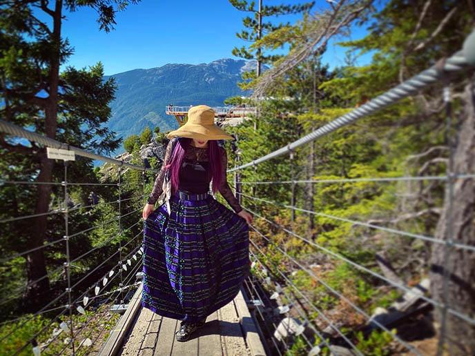 squamish suspension bridge sea to sky bc