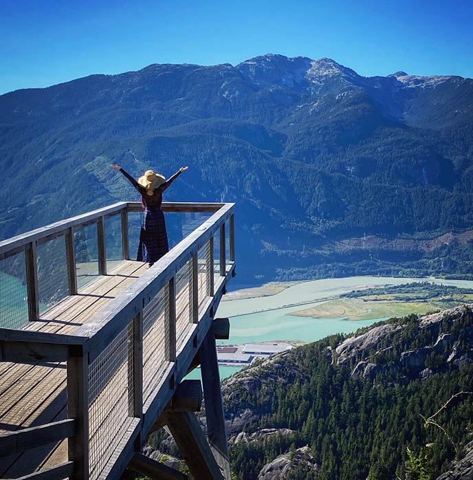 squamish bc instagram spots sea to sky gondola