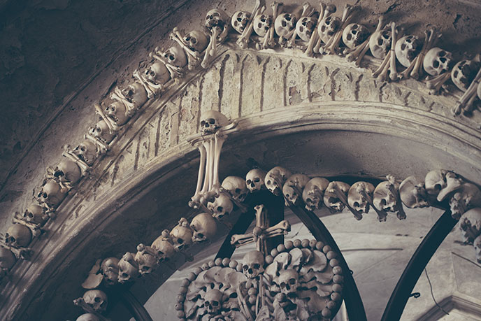 history sedlec church of bones married