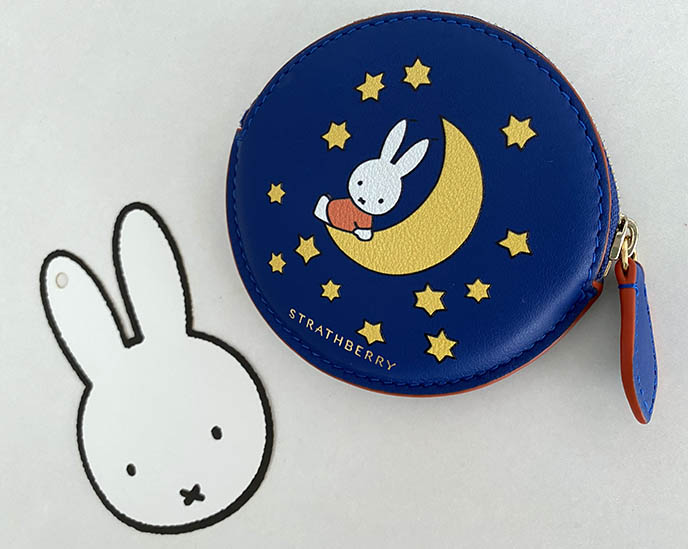 miffy strathberry coin purse leather accessories dick bruna